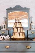 Wedding Drip Cake