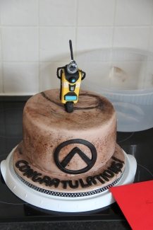 Borderlands Engagement Cake